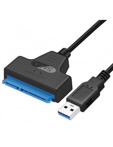 Переходник SATA к USB 3.0 для диска HDD SSD, ноутбука, Android, телевизора с LED подсветкой