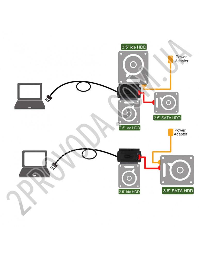 Переходник USB SATA IDE (3 в 1)
