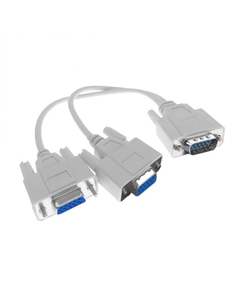 Дубликатор VGA на 2 монитора