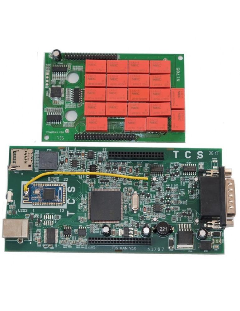 Автосканер Autocom DS150E CDP+ (ПО 2016), плата v3.0