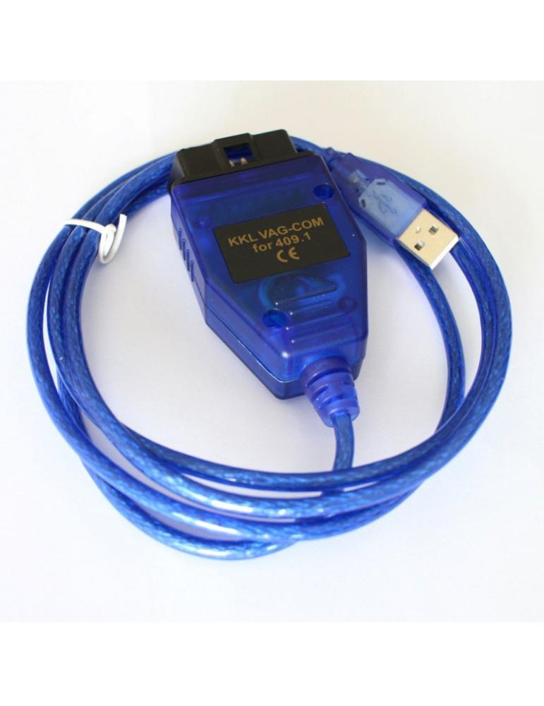 Автосканер USB KKL VAG-COM 409.1 чип CH340 диагностический адаптер